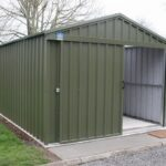 6m x 3m Supreme Garden Shed with 1.3m Sliding Door