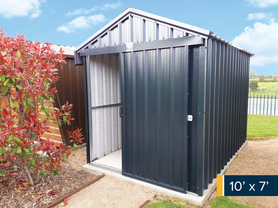 Full range of Steel garden sheds available