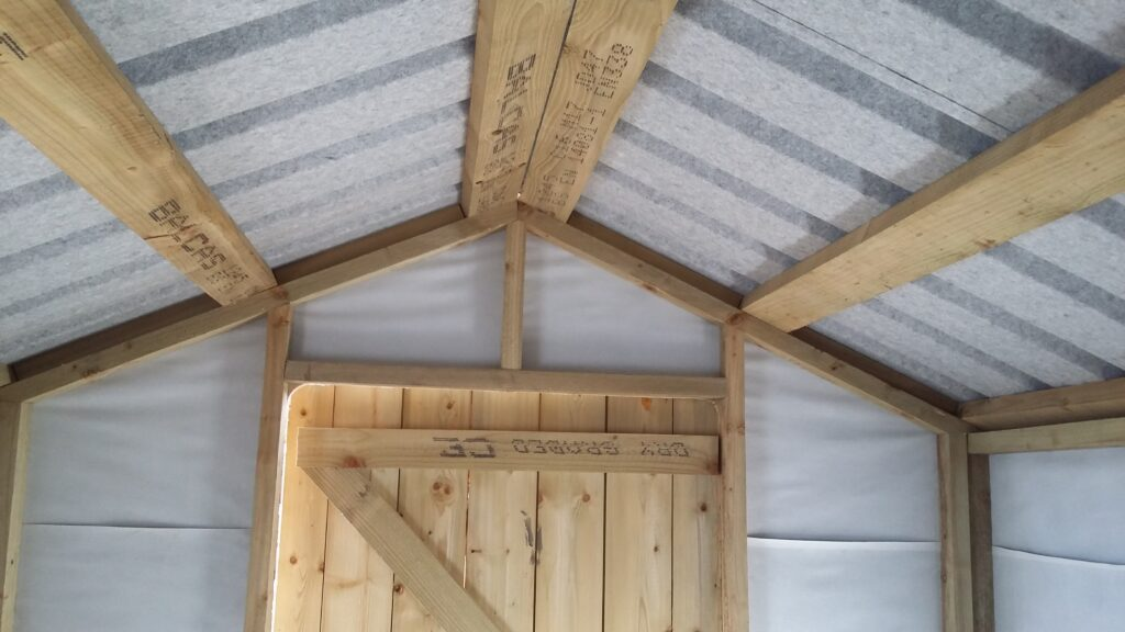 Non Drip Steel Roof
