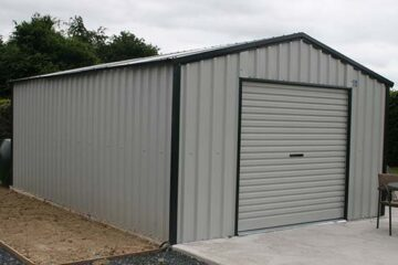 Steeltech Garages installed in Carlow