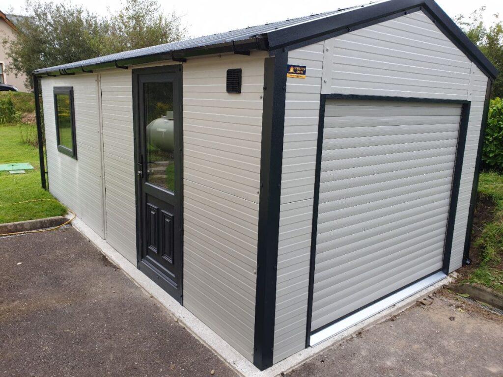 Composite Panel Garage